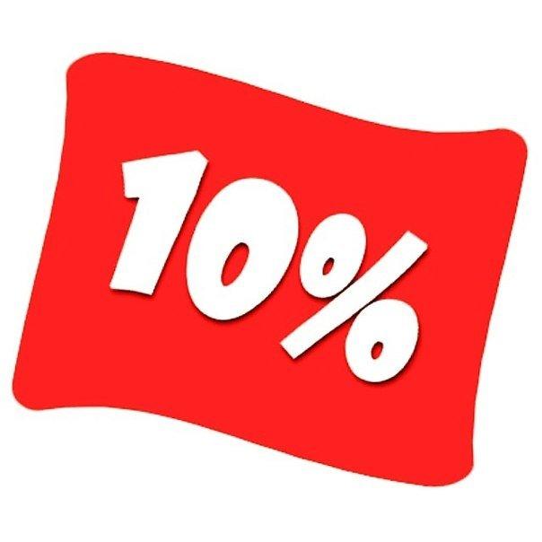 10% скидка